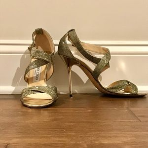Authentic EUC Jimmy Choo Lottie Sandals